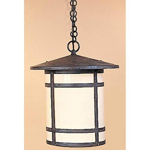 Arroyo Craftsman Berkeley Medium Cream Long Outdoor Pendant