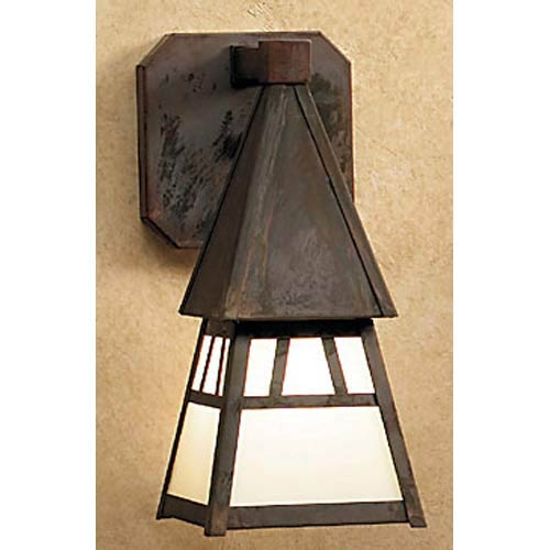 Arroyo Craftsman Dartmouth Small Frosted Outdoor Sconce