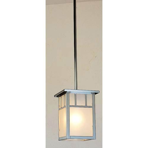 Arroyo Craftsman Huntington Frosted T-Bar Mini Pendant