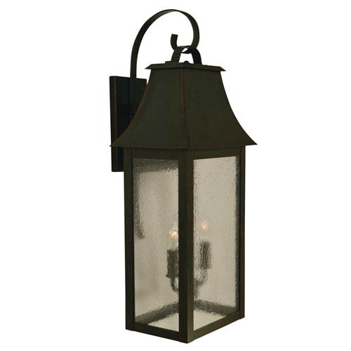Orpington Bronze Two-Light Outdoor Wall Mount