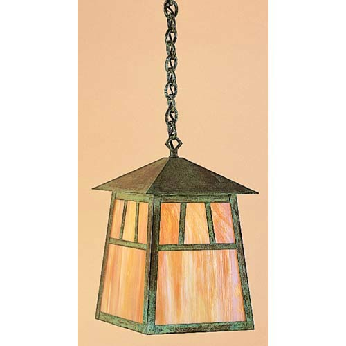 Raymond Large Gold White Iridescent Outdoor Pendant