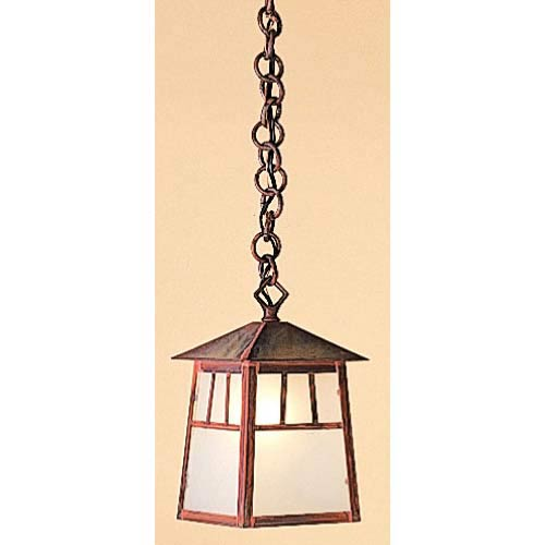 Raymond Small Frosted Outdoor Pendant