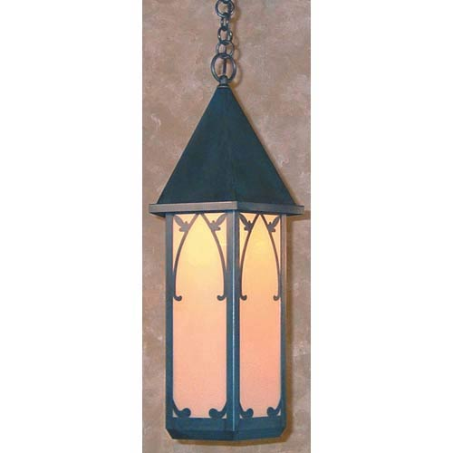 Saint George Large Tan Lantern Pendant