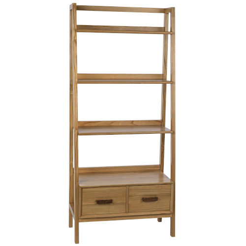 Johnson Natural 32-Inch Bookcase