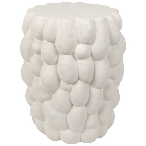 Hive White Accent Table