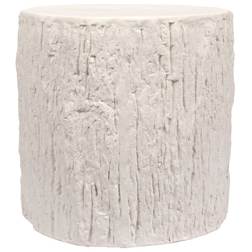 Trunk White Side Table