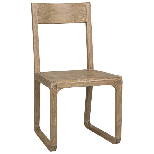 Modal Washed Distressed Mindi 19-Inch Dining Chair