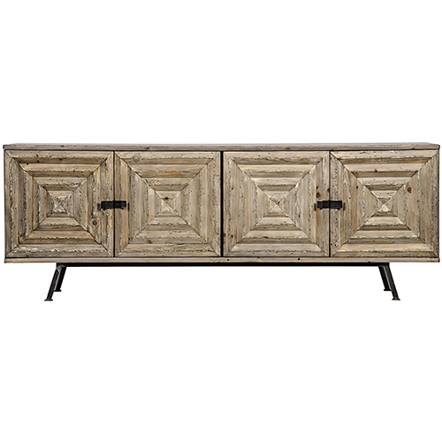 Noir Warus Old Wood Sideboard
