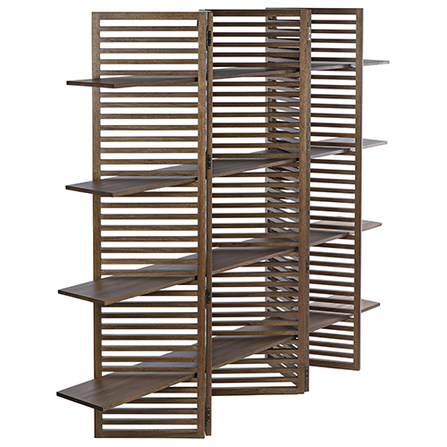 Haru Dark Walnut 94-Inch Bookcase