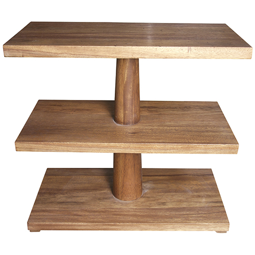 Fatima Dark Walnut Side Table