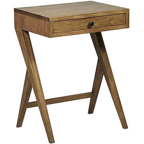 Peter Dark Walnut Side Table