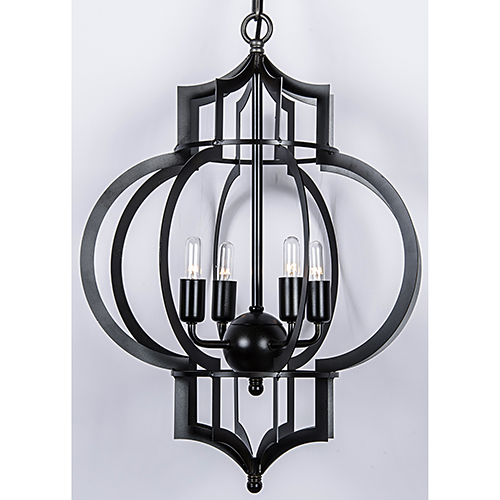 Palace Metal Four-Light Pendant