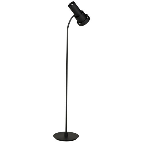 Bram Black 14-Inch Two-Light Floor Lamp