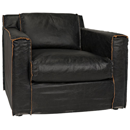 Florence Black 35-Inch Occasional Chair