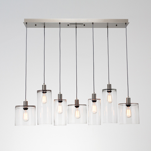 Apothecary 13-Inch Seven-Light Pendant