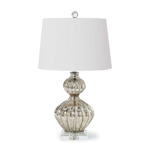 Modern Glamour Antique Mercury One-Light Table Lamp