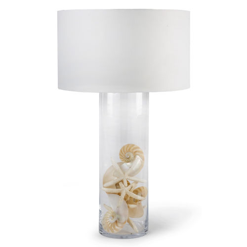 Polished Nickel One-Light Table Lamp