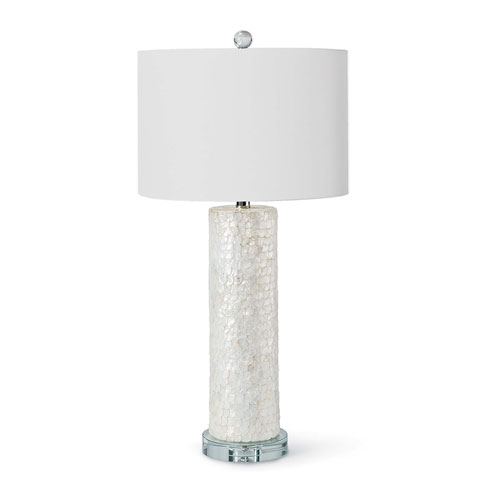 Modern Glamour Natural One-Light Table Lamp
