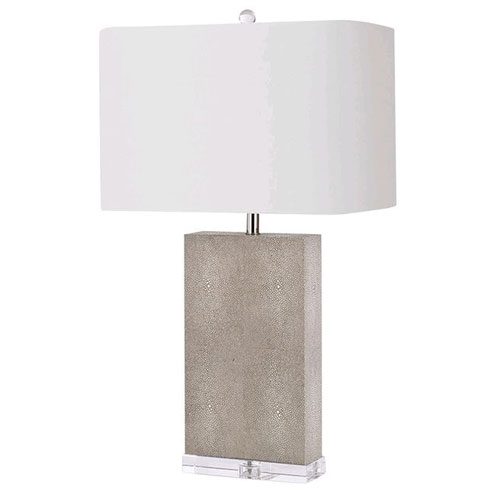 Classics Ivory Grey One-Light Table Lamp