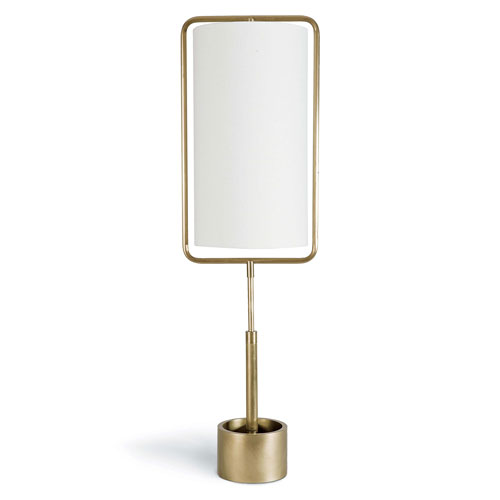 Classics Natural Brass 38-Inch One-Light Table Lamp