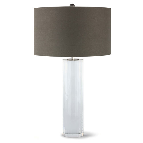 Classics Clear One-Light Table Lamp