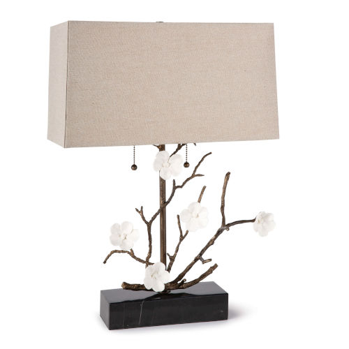 Cherise Oil Rubbed Bronze Two-Light Table Lamp