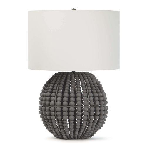 Tropez Gray One-Light Table Lamp