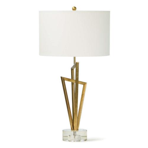 Sydney Gold Leaf One-Light Table Lamp