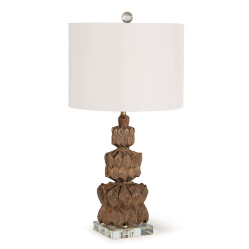 Ravi Brown One-Light Table Lamp