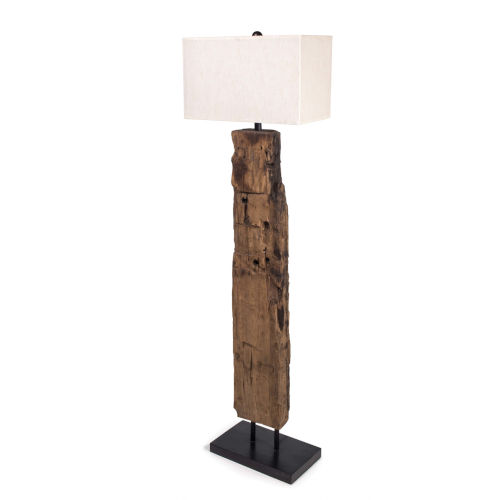 Natural One-Light Floor Lamp