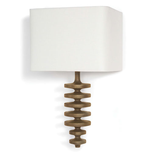 LA Modern Natural One-Light Wall Sconce