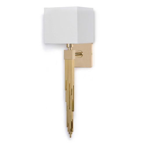 Classics Polished Brass One-Light Wall Sconce