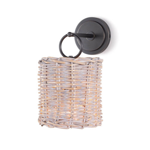 Nantucket Oil Rubbed Bronze One-Light Wall Sconce