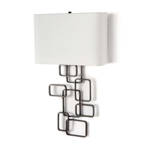 Simon Pewter One-Light Wall Sconce