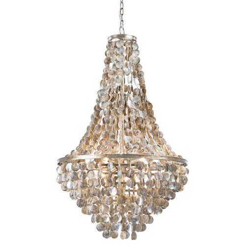 East End Natural Six-Light Chandelier
