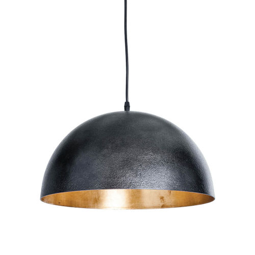 Sigmund Blackened Steel One-Light Pendant