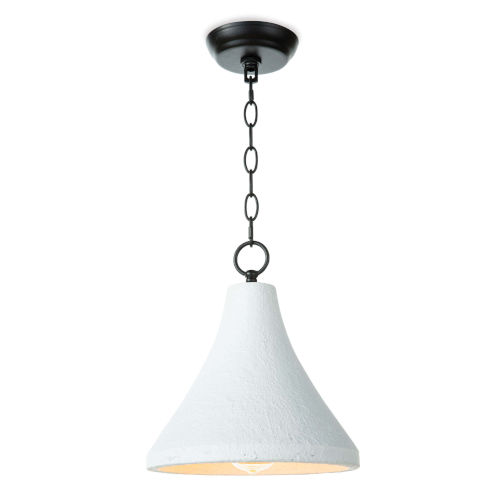 Billie White One-Light Pendant
