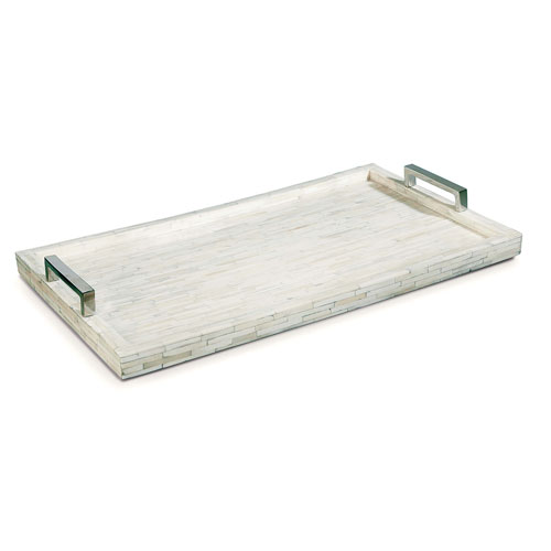East End Natural Brass Mirror Tray
