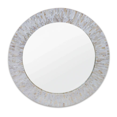 Chantal White Wall Mirror