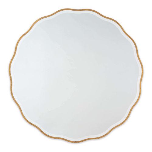 Candice Gold Leaf Wall Mirror
