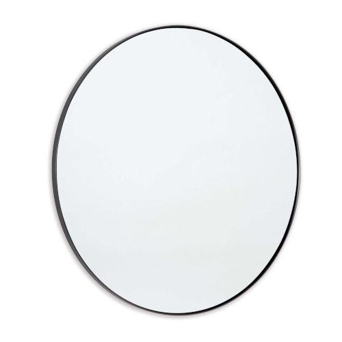 Rowen Blackened Steel Mirror
