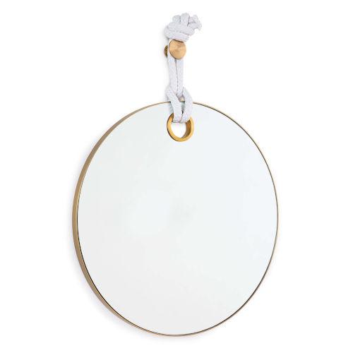 Porter Natural Brass Mirror