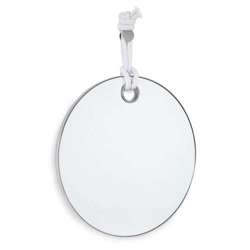 Porter Polished Nickel Mirror