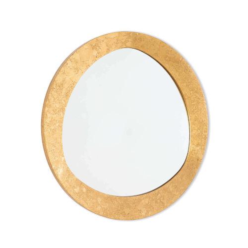 Insignia Gold Leaf Mirror