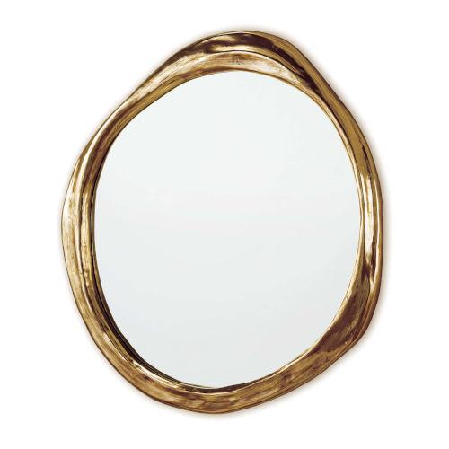 Ibiza Antique Gold Mirror
