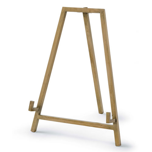 East End Natural Brass Easel