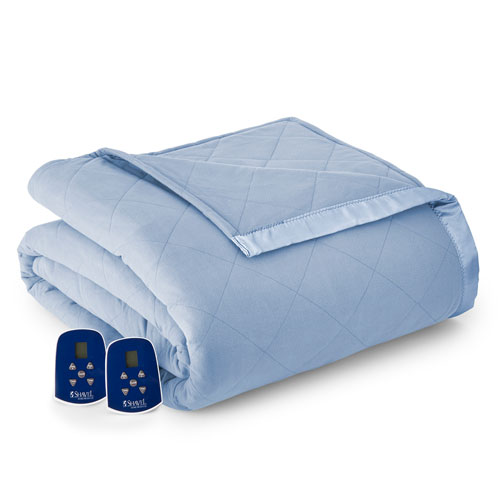 Solid Micro Flannel Electric Blanket