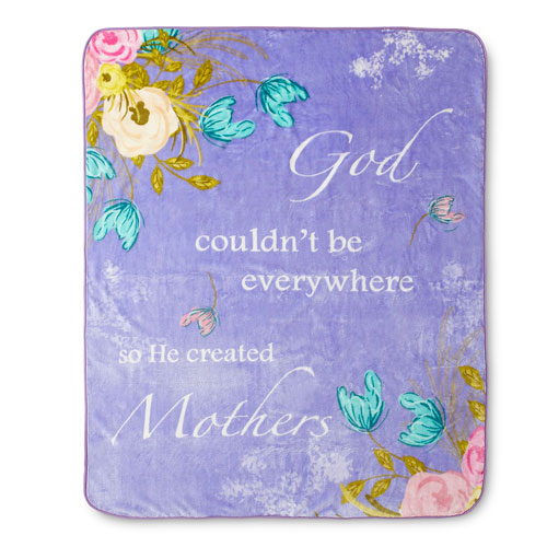 Mothers 60 x 80 In. Hi Pile Luxury Throw