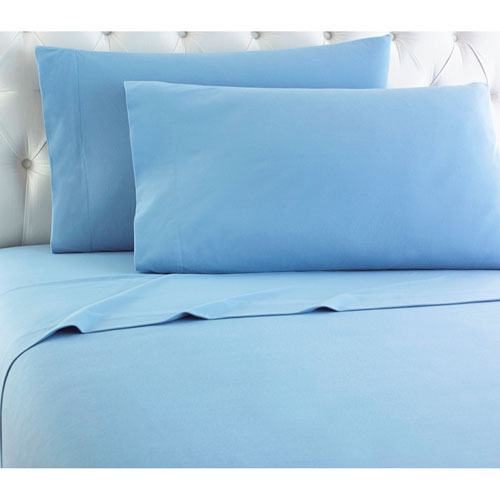 Shavel Home Products Wedgewood Full Micro Flannel Sheet, Set of 4