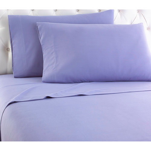 Shavel Home Products Amethyst Queen Micro Flannel Sheet, Set of 4